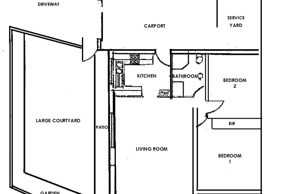 Floorplan of Homely unit listing, 1/8 Vine Street, Magill SA 5072