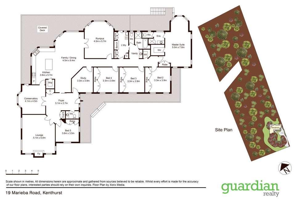 Floorplan of Homely house listing, 19 Marieba Road, Kenthurst NSW 2156