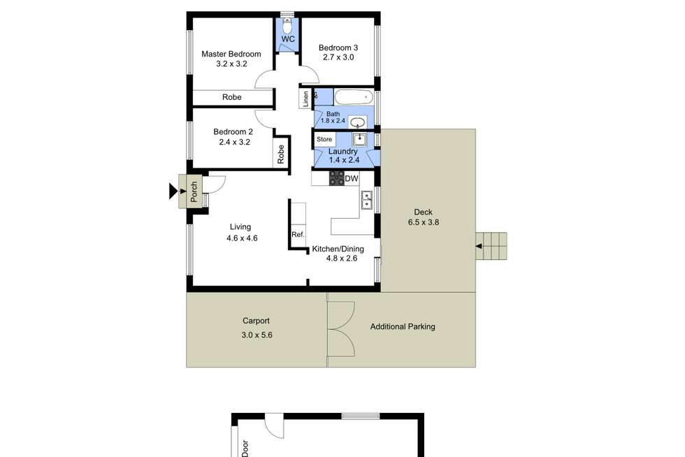 Floorplan of Homely house listing, 16 Tingira Street, Charmhaven NSW 2263