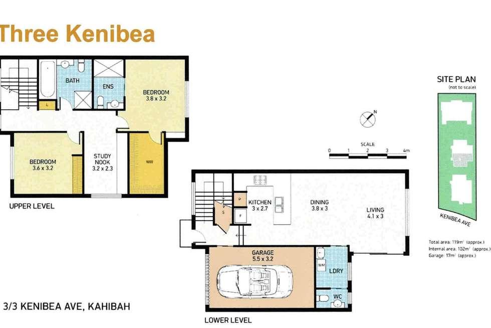 Floorplan of Homely apartment listing, 3/3 Kenibea Avenue, Kahibah NSW 2290