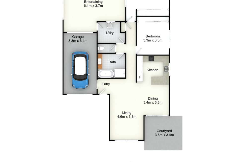 Floorplan of Homely villa listing, 10/34 Kings Road, New Lambton NSW 2305