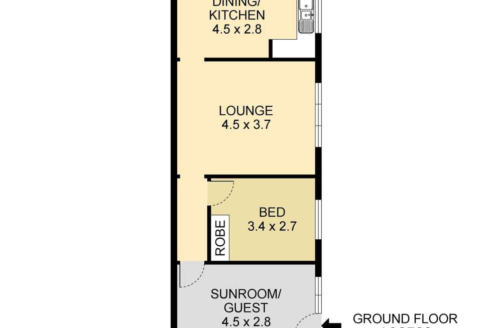 Floorplan of Homely apartment listing, 4/20 Glebe Street, Clovelly NSW 2031