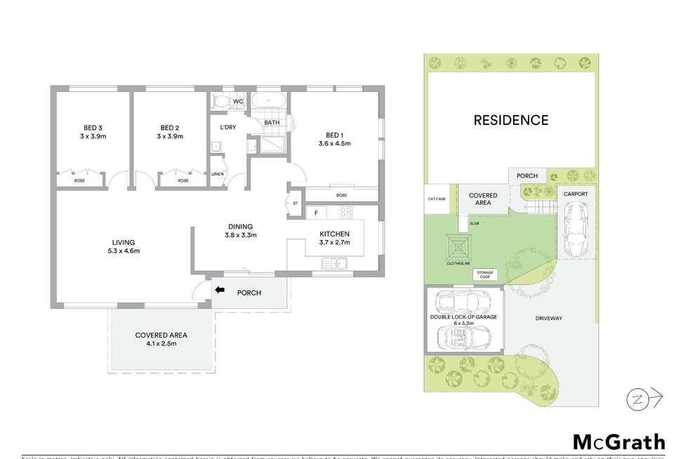 Floorplan of Homely house listing, 43A Greenfield Road, Empire Bay NSW 2257