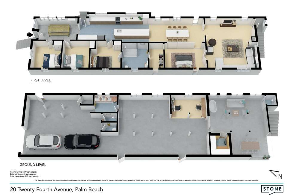 Floorplan of Homely house listing, 20 Twenty Fourth Avenue, Palm Beach QLD 4221