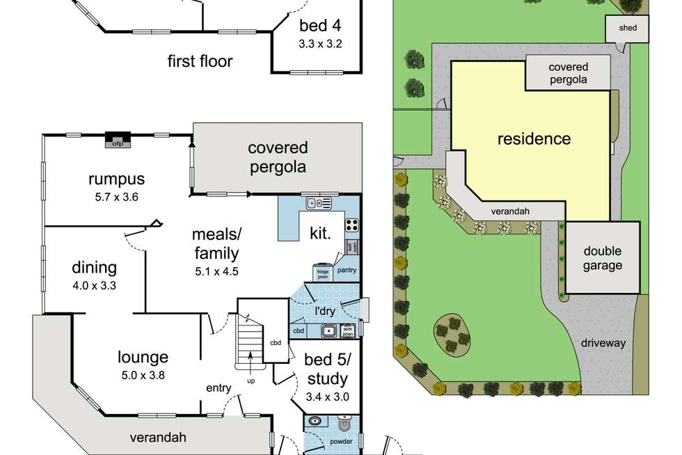 Floorplan of Homely house listing, 15 Bemboka Road, Warranwood VIC 3134