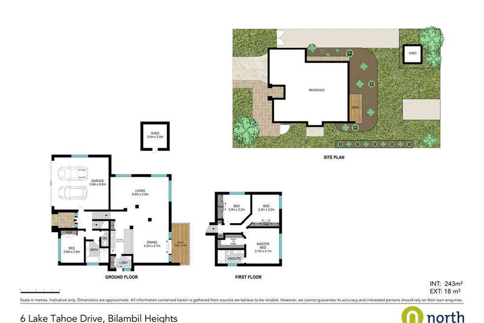 Floorplan of Homely house listing, 6 Lake Tahoe Drive, Bilambil Heights NSW 2486