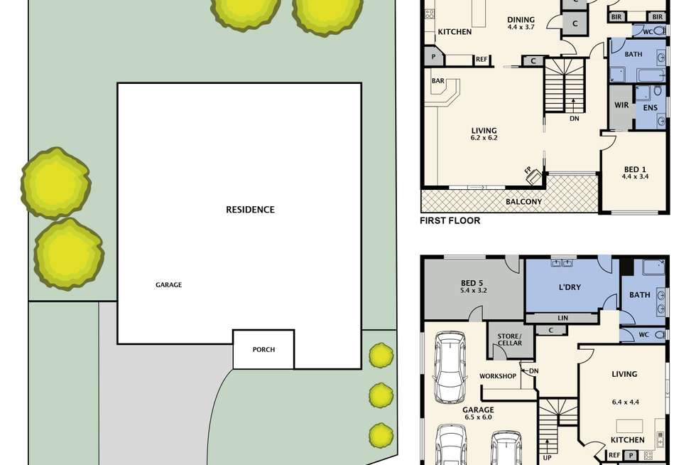 Floorplan of Homely house listing, 59 Ayr Street, Reservoir VIC 3073
