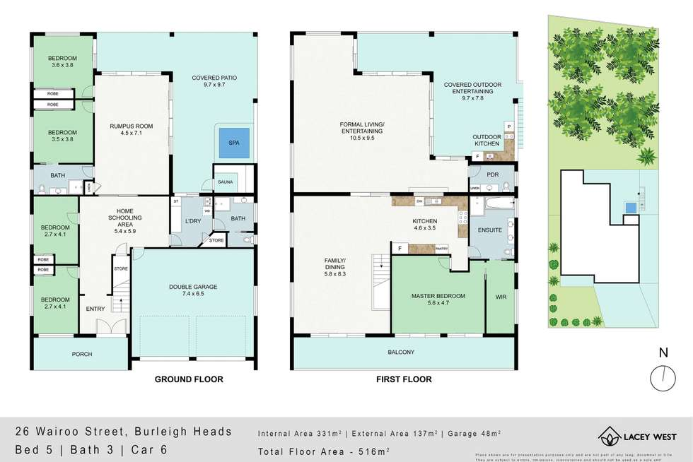 Floorplan of Homely house listing, 26 Wairoo Street, Burleigh Heads QLD 4220