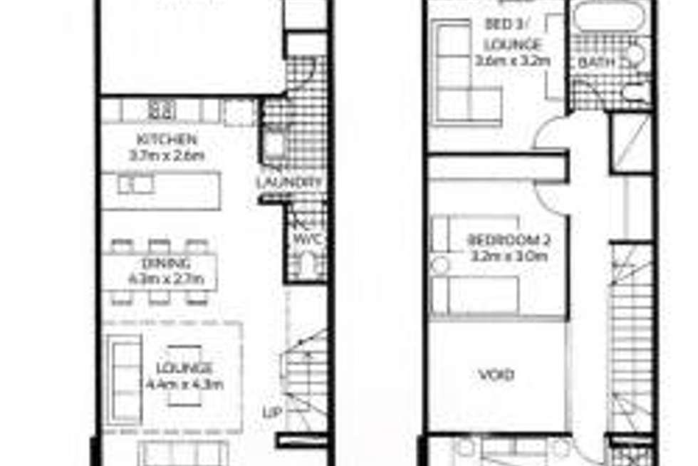 Floorplan of Homely house listing, 3/21 Russell Street, Adelaide SA 5000