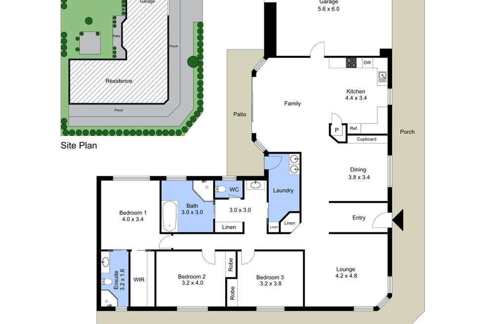 Floorplan of Homely house listing, 41 Cams Boulevard, Summerland Point NSW 2259