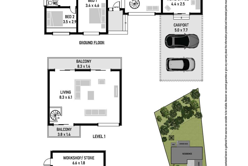 Floorplan of Homely house listing, 53 Mary Street, Beacon Hill NSW 2100
