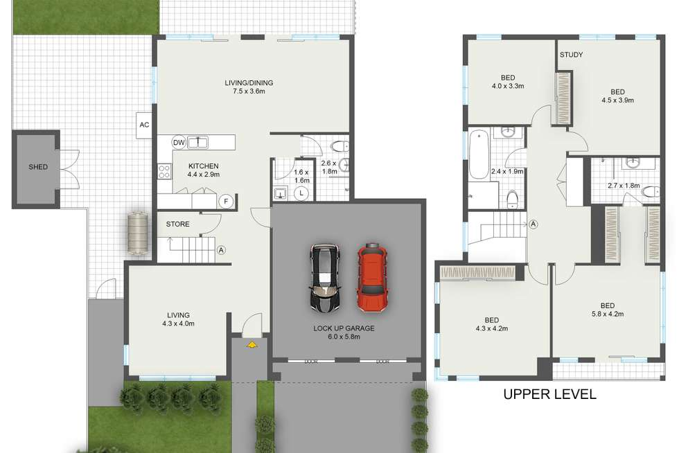 Floorplan of Homely house listing, 24 Fairsky Street, South Coogee NSW 2034