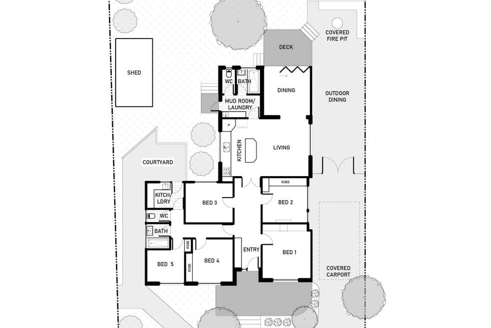 Floorplan of Homely house listing, 176 Goyder Street, Narrabundah ACT 2604