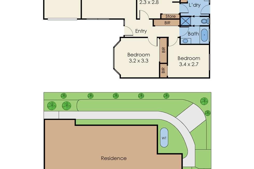 Floorplan of Homely unit listing, 3/26 Munro Avenue, Mount Waverley VIC 3149