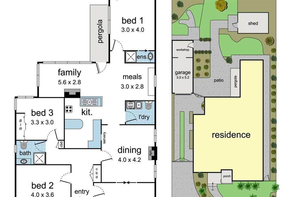 Floorplan of Homely house listing, 29 Kendall Street, Ringwood VIC 3134