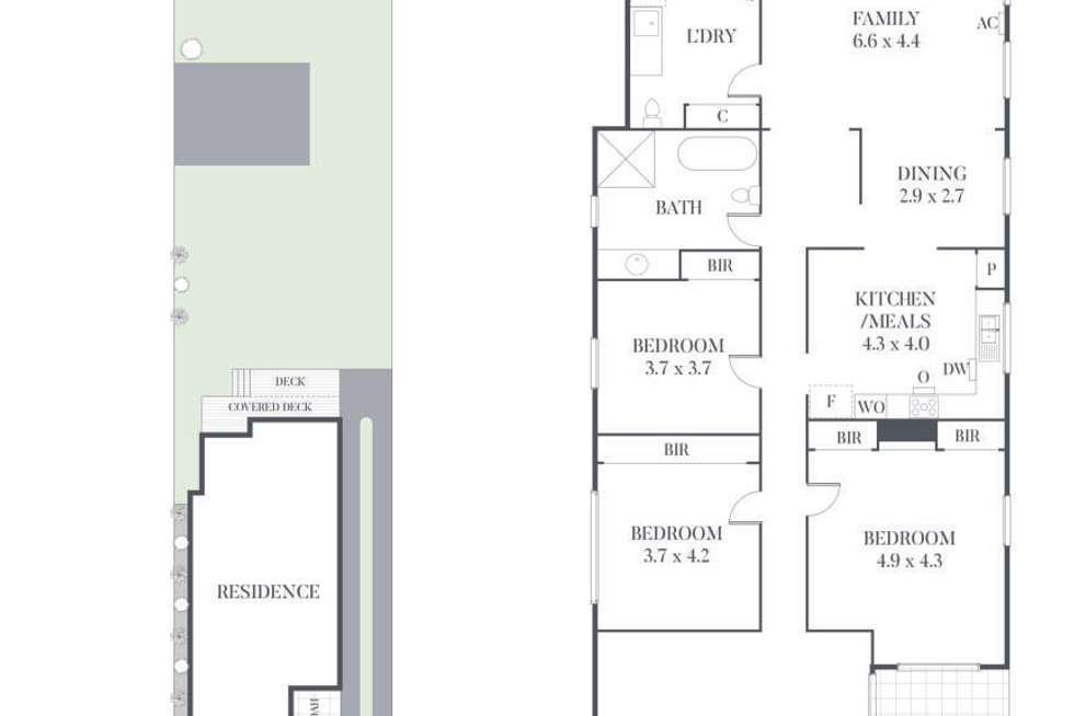 Floorplan of Homely house listing, 33 Black Street, Brighton VIC 3186