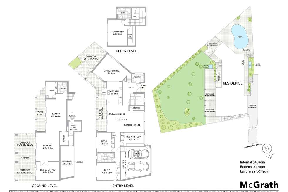 Floorplan of Homely house listing, 75 Alexandra Street, Hunters Hill NSW 2110