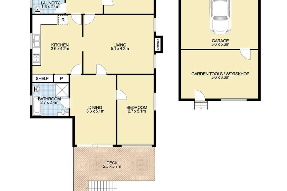 Floorplan of Homely house listing, 50 Newton Street, Armidale NSW 2350
