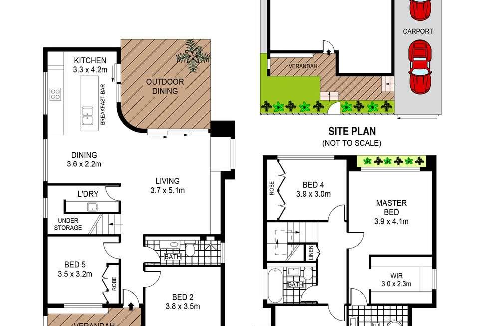 Floorplan of Homely house listing, 77 Beach Road, Bondi Beach NSW 2026