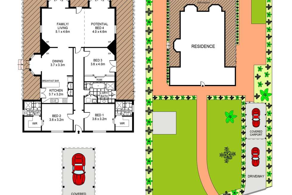 Floorplan of Homely house listing, 182 Ellesmere Road, Gymea Bay NSW 2227