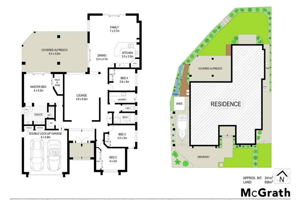 Floorplan of Homely house listing, 1 Bonaire Court, Parrearra QLD 4575