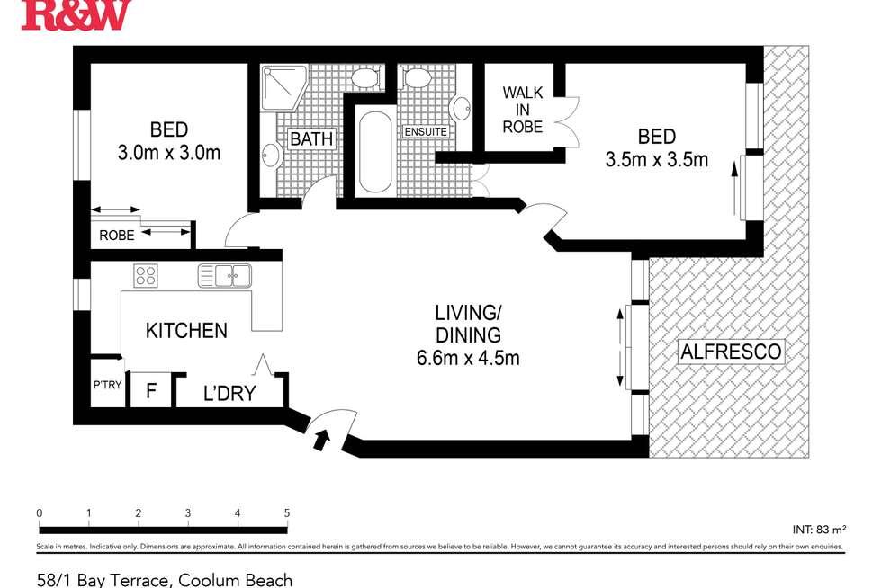 Floorplan of Homely unit listing, 58/1 Bay Terrace, Coolum Beach QLD 4573