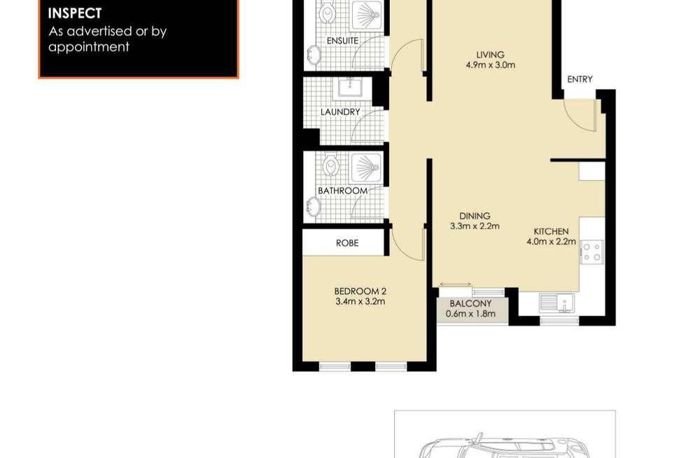 Floorplan of Homely apartment listing, A16/1 Buchanan Street, Balmain NSW 2041