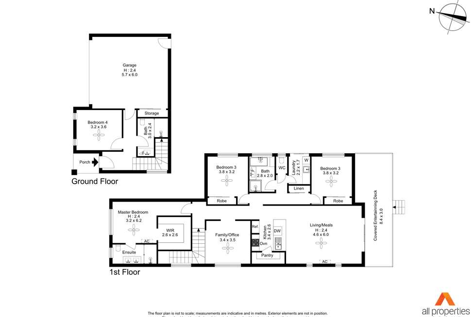 Floorplan of Homely house listing, 15 Apple Berry Avenue, Coomera QLD 4209