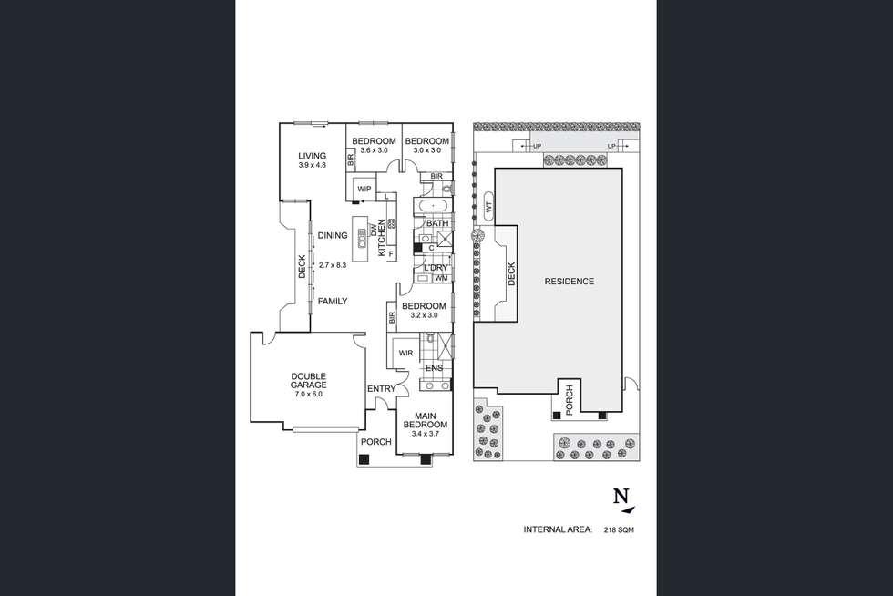 Floorplan of Homely house listing, 7 Snapshot Drive, Coburg VIC 3058
