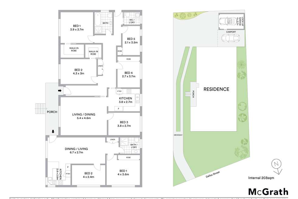 Floorplan of Homely semiDetached listing, 15 Dallas Street, Keiraville NSW 2500