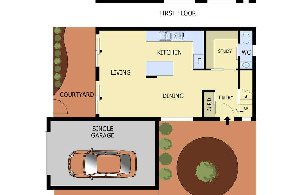 Floorplan of Homely unit listing, 6/363-365 Princes Highway, Noble Park VIC 3174