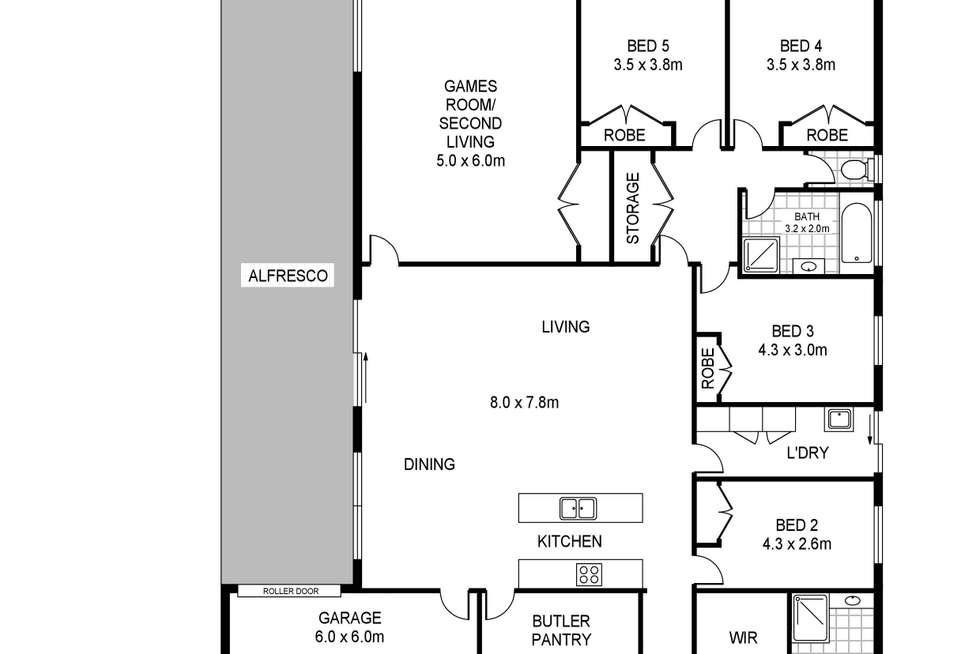 Floorplan of Homely house listing, 37 Madeira Close, Portland VIC 3305