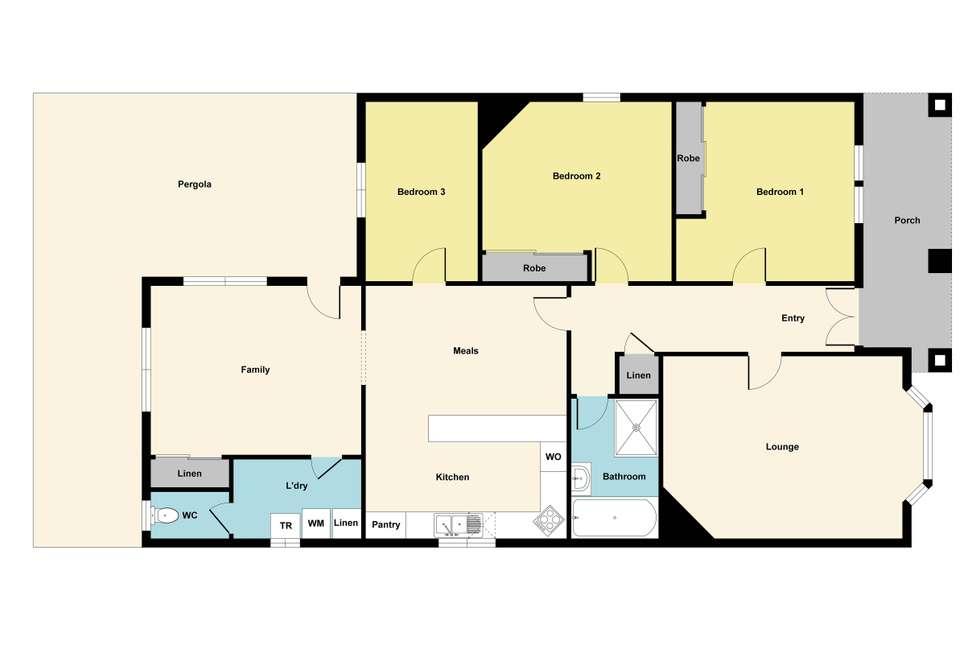 Floorplan of Homely house listing, 74 Albert Street, Sebastopol VIC 3356