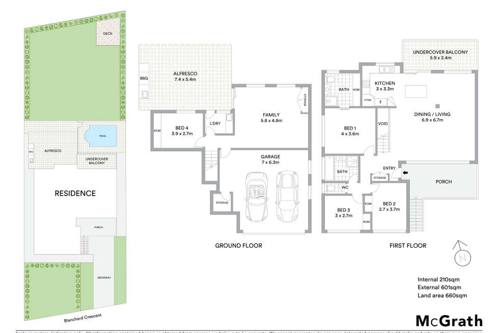 Floorplan of Homely house listing, 12 Blanchard Crescent, Balgownie NSW 2519