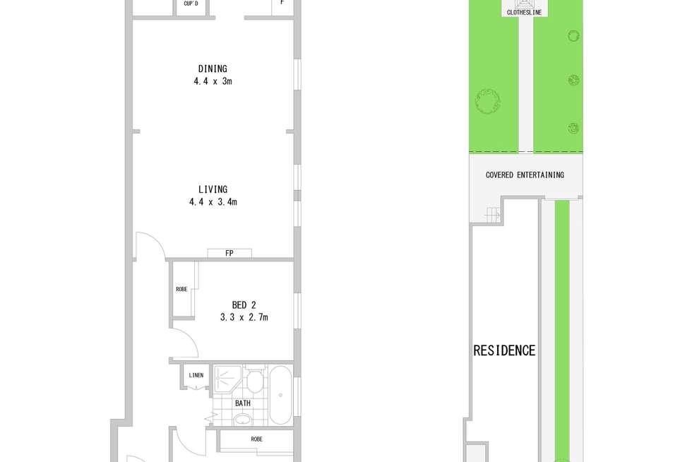 Floorplan of Homely house listing, 163 Croydon Avenue, Croydon Park NSW 2133