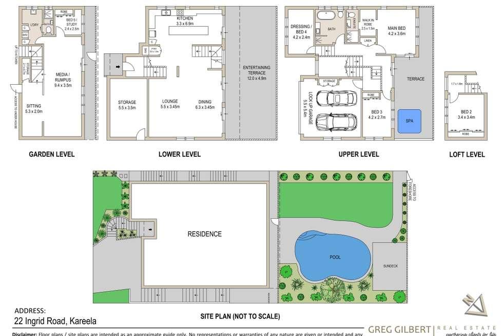 Floorplan of Homely house listing, 22 Ingrid Road, Kareela NSW 2232