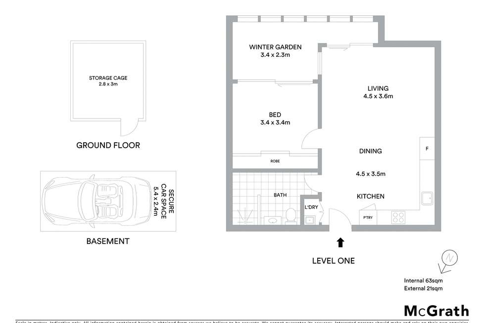 Floorplan of Homely apartment listing, 104/70 Mobbs Lane, Eastwood NSW 2122