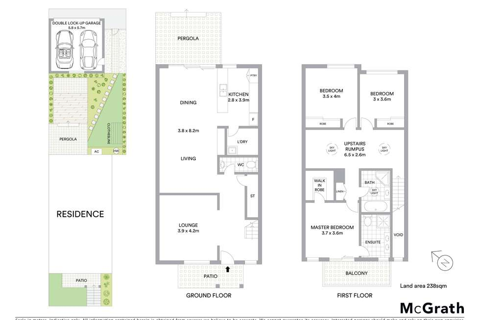 Floorplan of Homely house listing, 4 Pollifrone Street, Kellyville Ridge NSW 2155