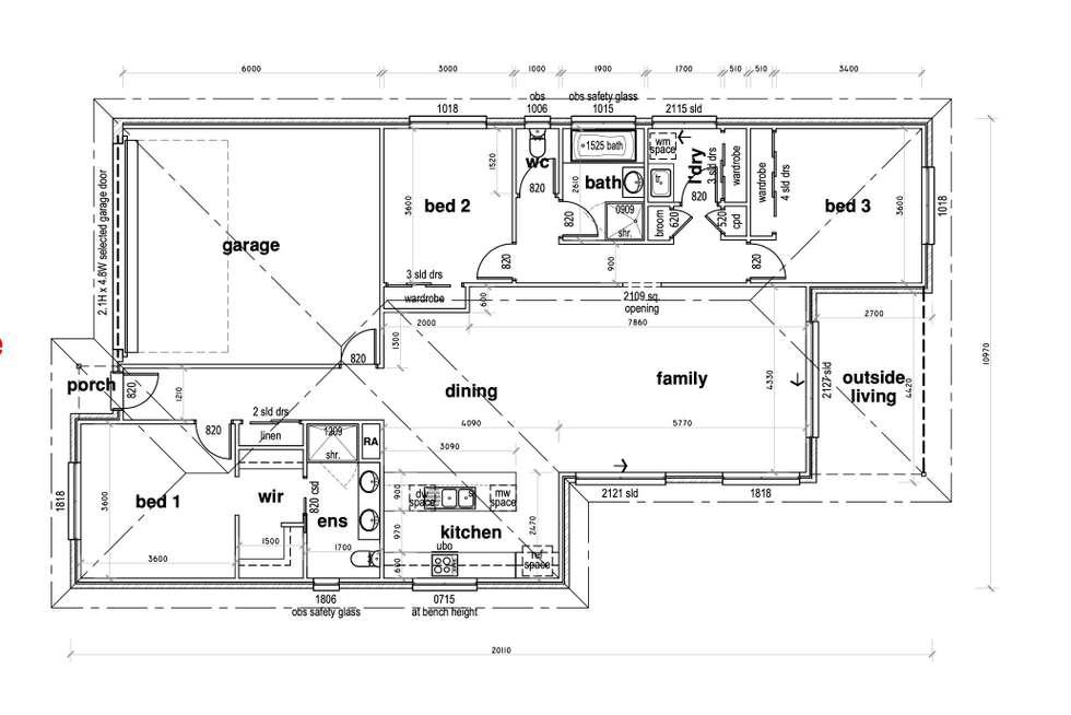 Floorplan of Homely house listing, 9 Gat Sing Way, Warrnambool VIC 3280