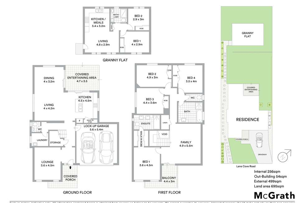 Floorplan of Homely house listing, 70 Lane Cove Road, Ryde NSW 2112