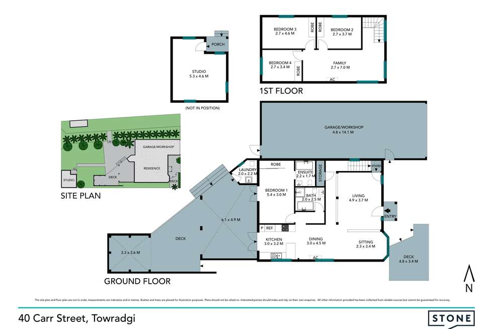 Floorplan of Homely house listing, 40 Carr Street, Towradgi NSW 2518