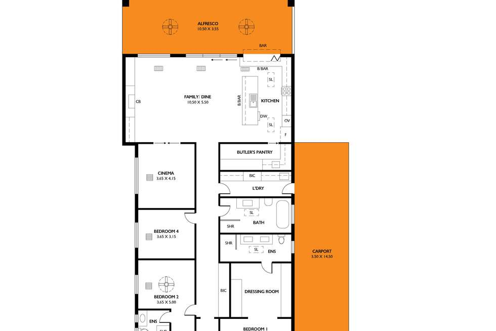 Floorplan of Homely house listing, 9 Rosslyn Avenue, Manningham SA 5086