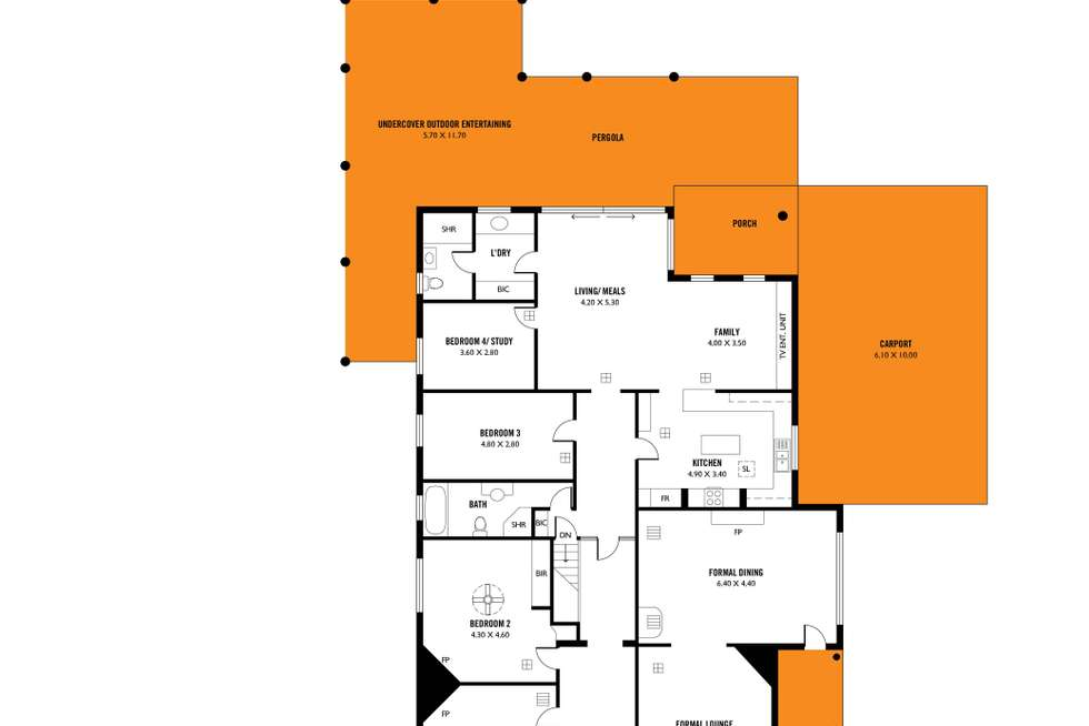 Floorplan of Homely house listing, 91 Cambridge Terrace, Malvern SA 5061