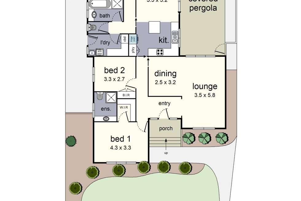 Floorplan of Homely house listing, 11 Tibarri Court, Mooroolbark VIC 3138