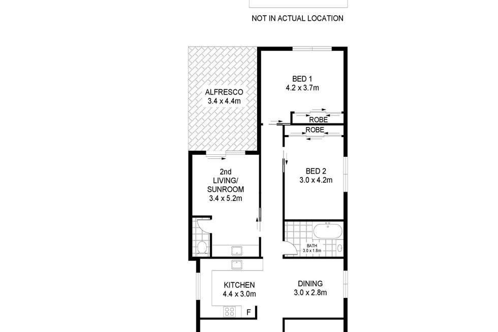 Floorplan of Homely house listing, 62 Gawler Street, Portland VIC 3305