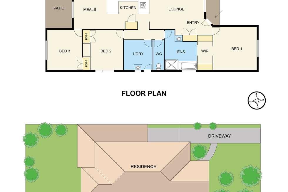 Floorplan of Homely house listing, 32 Lauren Drive, Hampton Park VIC 3976