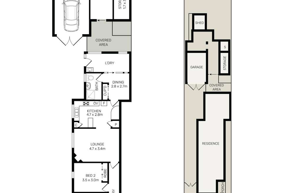 Floorplan of Homely house listing, 48 Second Avenue, Campsie NSW 2194