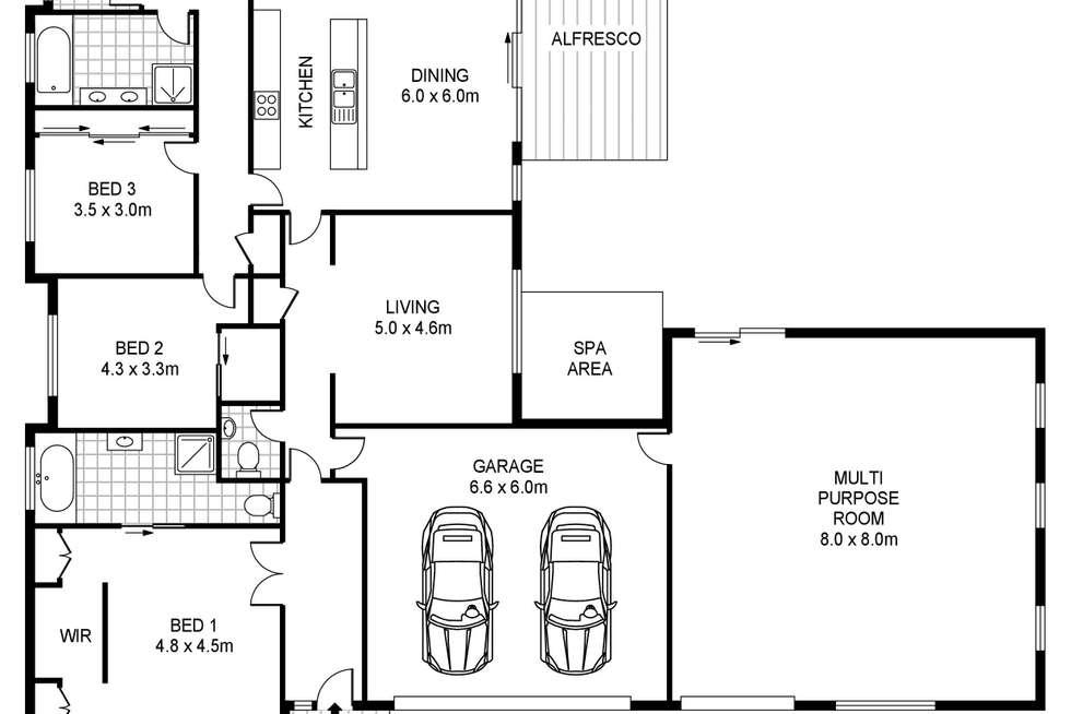Floorplan of Homely house listing, 30 Trangmar Street, Portland VIC 3305