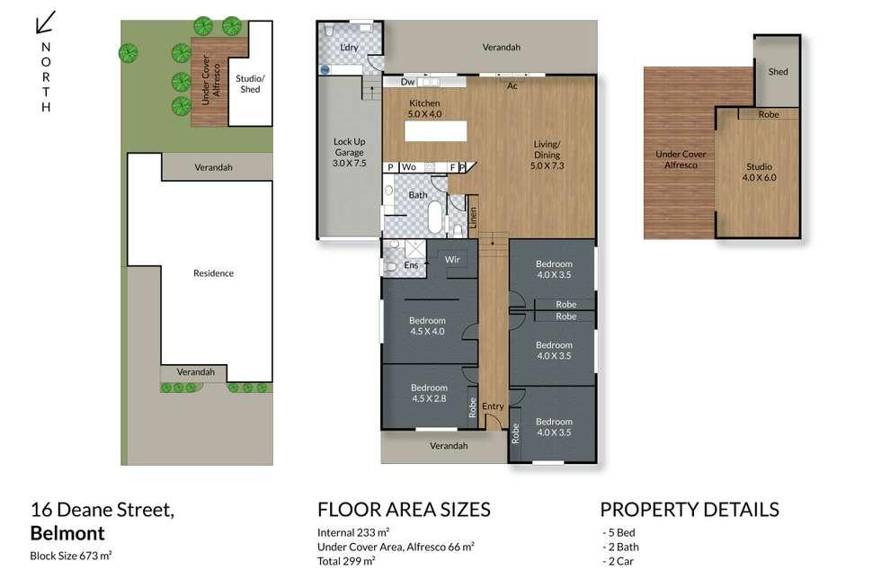 Floorplan of Homely house listing, 16 Deane Street, Belmont NSW 2280