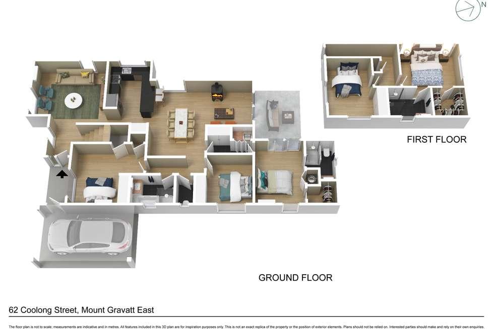 Floorplan of Homely house listing, 62 Coolong Street, Mount Gravatt East QLD 4122